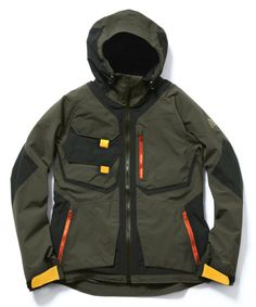 Burtonjas Outdoor Wear, Outdoor Outfit, Sport Fashion, Mens Fashion, Cool Jackets, Sport Wear, Military Fashion, Hoodie Jacket, What To Wear