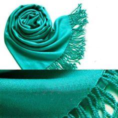 Pashmina-Cashmere-Silk-Solid-Shawl-Wrap-Unisex-Long-Range-Scarf