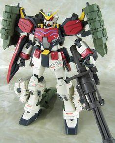 GUNDAM GUY: MG 1/100 Gundam Heavyarms Igel - Custom Build