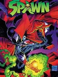 Spawn centerfold by Todd McFarlane & Ken Steacy. Pin-up of Spawn by George Perez. Pin-up of PITT by Dale Keown. Cover by McFarlane & Steacy. Up for Sale is Spawn # 1 regular cover, from Image Comics. Valuable Comic Books, Best Comic Books, Comic Books Art, Comic Art, Book Art, Marvel Dc, Marvel Comics, Spawn Comics, Horror Comics