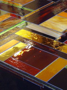 Glass Table Top, Michael Curry