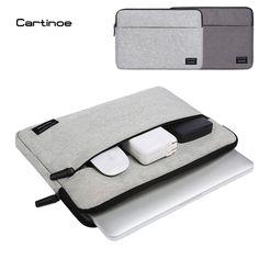 2017 Mode Cartinoe Ordinateur Portable Sac cas Laptop Sleeve pour Macbook air pro sac pochette pour Lenovo Dell HP 11 12 13 14 15.6 pouce sac