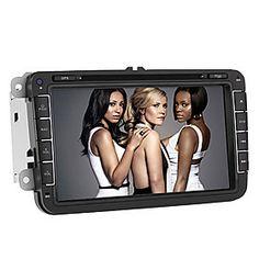 Android 4.0 8 pouces Lecteur DVD de voiture 2Din pour Magotan soutien GPS, Canbus, TV, BT, Wifi, iPo