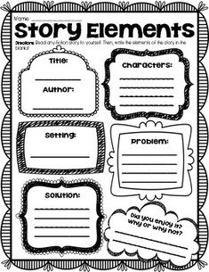 (((3 FABLES + GRAPHIC ORGANIZERS))) Fables + Graphic