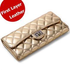 $31.14 (Buy here: https://alitems.com/g/1e8d114494ebda23ff8b16525dc3e8/?i=5&ulp=https%3A%2F%2Fwww.aliexpress.com%2Fitem%2F5-Colors-Designer-Brand-Gold-Leather-Wallet-Woman-Genuine-Sheep-Leather-Women-Wallets-Fashion-Long-Female%2F1887952980.html ) 5 Colors Designer Brand Gold Leather Wallet Woman Genuine Sheep Leather Women Wallets Fashion Long Female Wallet Purses 1136 for just $31.14