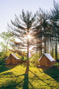 Tents. by Chris Ozer