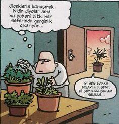 Bitkilerle konuşun.
