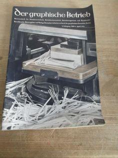 Cover Der graphische Betrieb, 9. Jahrgang, Heft 4, 1934