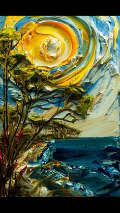 Awesome example of impasto painting