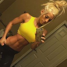 """People keep asking me how my offseason is going and to tell you the truth... I don't have an """"offseason"""". Fitness is a lifestyle to me and I love eating wholesome foods, training hard, and respecting my body. After I compete in a show I usually take 2 weeks off of lifting and eat more calories/carbs but I don't let myself go by eating nothing but junk food. It's all about balance and moderation. I've worked hard for this body and I refuse to throw it away on junk food.."""