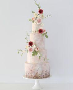 #floral #weddingcake