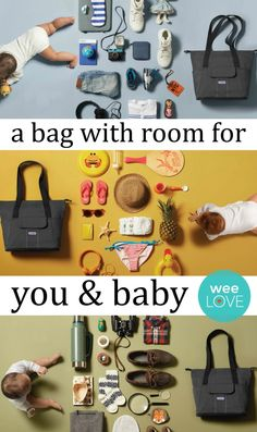 The Babyjörn Diaper Bag Sofo is gender neutral, can be worn 3 different ways and is equipped with 13 pockets to store everything you and baby need. (Enter to win one at wee.co/win, now through Oct. 8!)