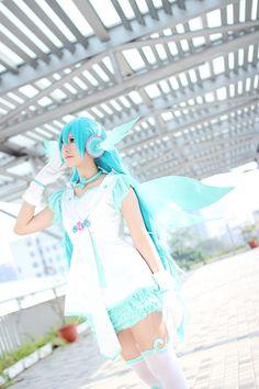 初音ミク miku hatsune #cosplay