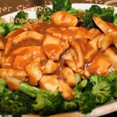 PF Chang's Ginger Chicken and Broccoli copy cat recipe Broccoli Dishes, Broccoli Recipes, Chicken Broccoli, Chicken Recipes, Chicken Salad, Entree Recipes, Asian Recipes, Dinner Recipes, Cooking Recipes