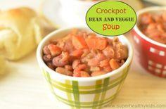 Crockpot Rice and Bean Soup | Recipes
