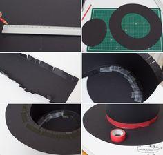 como hacer un Sombrero Cordobés de Flamenco