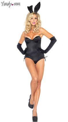 more amore blue bra playboy bunny costume rabbit costume and animal costumes - Halloween Costume Playboy Bunny