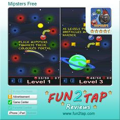 Mipsters Free - Fast-Moving Puzzle Game. Full review at: http://fun2tap.com/index.cfm#id2252 --------------------------------------  #Apps  #Games #iPad #iPhone #Casualgames