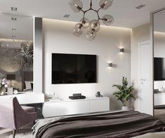 Bedroom Closet Design, Bedroom Bed, Master Bedroom, Bedroom Decor, Bedrooms, Living Room Designs, House Design, Interior Design, Furniture