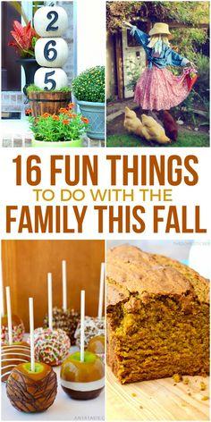 16 Fun Fall Family Activities