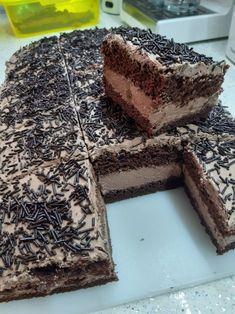 Brigadeiro: Συνταγή για σοκολατένιο γλυκό ταψιού Desserts, Food, Postres, Deserts, Hoods, Meals, Dessert, Food Deserts