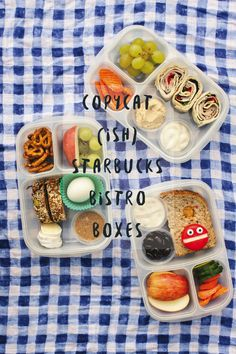 LITTLE BITES: COPYCAT STARBUCKS BISTRO BOXES | RAE ANN KELLY