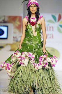 By Colombian designer Iveth Jaramillo  De reis naar Batik: Something else, Bio-fashion in Colombia