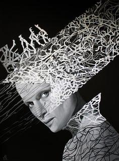 Anna Rączka ,,Hamlet''olej na płótnie 100 x 75 cm Image Hair Reference, Black Canvas, Oil On Canvas, Canvas Size, Surrealism, Saatchi Art, Anna, Wrapped Canvas, Art Prints