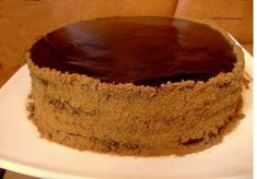 How to cook chocolate honey cake lady's whim - a recipe, ingredients and pictures Cooking Chocolate, Chocolate Cake, Best Cookbooks, Honey Cake, Pastry Cake, Strawberries And Cream, Cream Cake, I Foods, Sweet Recipes