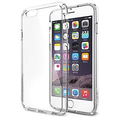 iPhone 6 Case, Spigen® [AIR CUSHION] iPhone 6 (4.7) Case Bumper **NEW** [Ultra Hybrid Series] [Crystal Clear] Air Cushion Technology Corners + Bumper Case with Clear Back Panel - ECO-Friendly Packaging - Bumper Case for iPhone 6 (4.7) (2014) - Crystal Clear (SGP10954) Spigen http://www.amazon.com/dp/B00JH88D1O/ref=cm_sw_r_pi_dp_qQqAub1XRYPYE