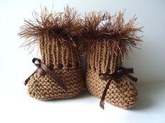 Baby boot booties.  :)