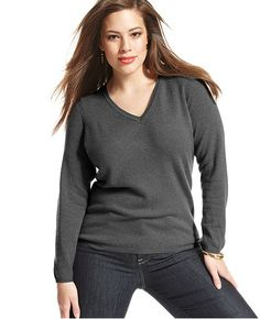 Charter Club cashmere sweater: $149  http://www1.macys.com/shop/product/charter-club-plus-size-sweater-long-sleeve-v-neck-cashmere?ID=935353&CategoryID=53905#fn=sp%3D1%26spc%3D13%26ruleId%3D65%26slotId%3D1