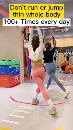 Body Weight Leg Workout, Full Body Gym Workout, Slim Waist Workout, Gym Workout Videos, Gym Workout For Beginners, Weight Loss Workout Plan, Butt Workout, Gymnastics Workout, Postnatal Workout