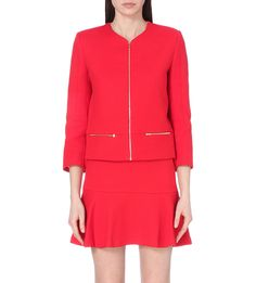 SANDRO Valeria stretch-cotton jacket