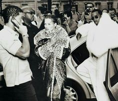The Red List.  Kate Moss and Puff Daddy by Annie Leibovitz for Vogue US, October 1999