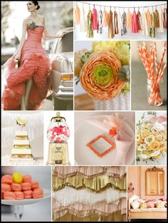 Love the colors, dream party color scheme