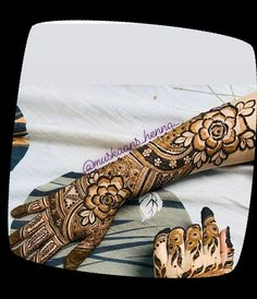 Mhndi Design, Henna Patterns, Hand Henna, Hand Tattoos