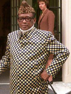 Mobutu Sese Seko Kuku Ngbendu wa Za Banga