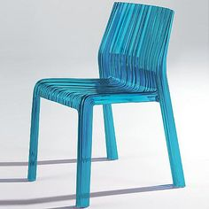 The Kartell Frilly Chair designed by Patricia Urquiola was born of the idea of an industrial sculpture transformed into a charming ergonomic shape. The wavy effect covering the entire structure gives this chair a light and soft look, like pleated fabric, for a sensual, fun and feminine optical effect. The wide range of colors is reminiscent of natural elements, giving the chair a further light and lovely touch. The Frilly Chair features transparent or mass-tinted polycarbonate, is suitable…