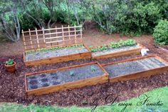 raised bed gardening ideas | Raised Bed Garden, We expanded our raised bed garden space this year ...