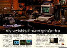 Apple ad: Every kid should have an Apple IIc (1985)