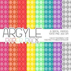 FREE Argyle Digital Scrapbooking Paper Pack Today there is an array of scrumptious colors for you in a cool Argyle pattern you are going to love! Don't forget…this Bright and Cheery Free Argyle Digital Scrapbooking Paper Pack comes in 2 parts…first here at The Cottage Market and then Free Pretty Things for you.All you have to do to snatch this 8 piece zip file of digital paper packs is to click here for Part 1. Then you can hop on over to Free Pretty Things for you for Part 2