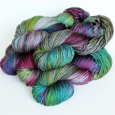 Today's featured OOAK is Prism. Remember when we used to dye multi's? We've re-interpreted a bunch of our old favourites in a more dynamic watercolour approach. I love the results! We will have loads of Prism in multiple bases available on Boxing Day. More details in today's blog post. #tanisfiberarts #tfarainbow #handdyedyarn #etsy #knittetsofinstagram