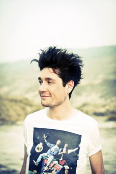 """Dan Smith // BASTILLE """"If you close your eyes, does it almost feel like nothing changed at all?"""" ERM HELLO BILL AND TED TSHIRT"""