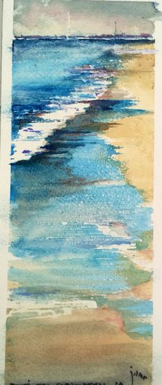 Miniature Seascape Paintings