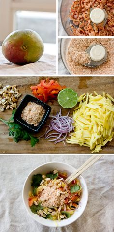A recipe for Thai Mango Salad, and 5 lessons learned in a Thai cooking class