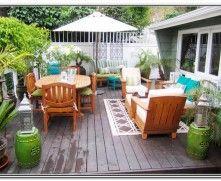 Deck Patio Design Ideas