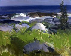George Bellows - love the deep strong colors