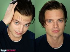 SEBASTIAN STAN photo | Sebastian Stan.  I'm really grooving on the picture duo/combo AND the gorgeous catchlights.