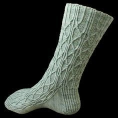 Ravelry: Compline pattern by Caoua Coffee all of her patterns are unique and clever and very generously offered for free on Ravelry. She requests a donation to your favourite charity in return. Crochet Socks, Knit Mittens, Knitted Shawls, Knitting Socks, Knit Crochet, Wool Socks, My Socks, Ravelry, Knit Stockings